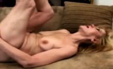 Horny 70yo Blondie Gets Her Snatch Pounded Balls Deep