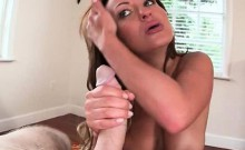 Big ass ex-GF blowing monster dick in POV