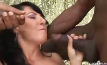 Gal get her pussy and tight ass fuck by three black dudes