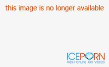 Skinny blonde amateur blowing huge cock in the bus