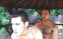 Cute Gay Latinos Outdoor Anal Sex